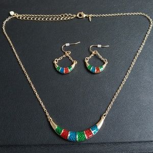 Holiday Necklace/Earring Set